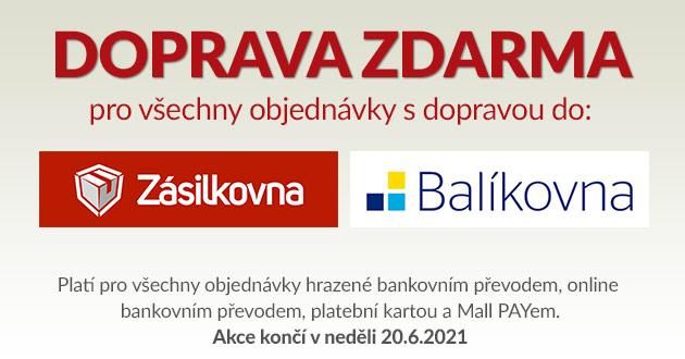 banner - Doprava ZDARMA! Pouze do neděle.